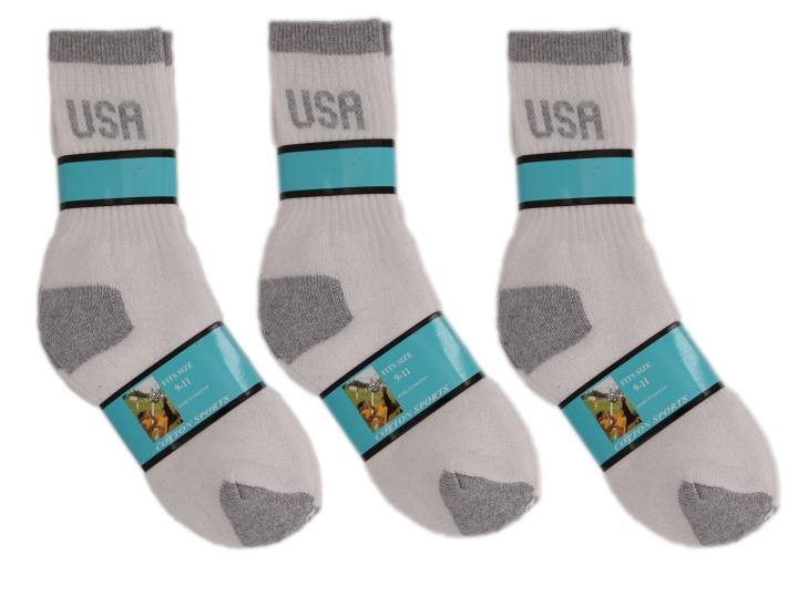 cotton sports-men-usa socks