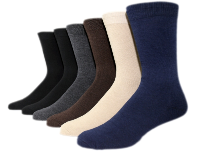 focus men dress socks basic colors on maniqui
